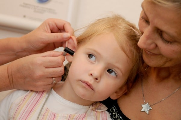 Kindliche Hörstörungen (Pädaudiologie)